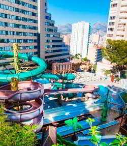 hotel magic aqua rock garden