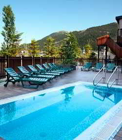 hotel park piolets mountain spa